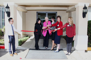 Ribbon cutting ceremony at ManorCare