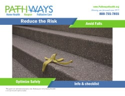Falls Reduction Flyer cover page