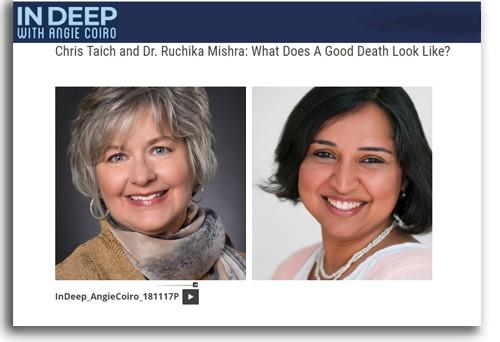 "Banner promoting ""InDeep"" program described in article."